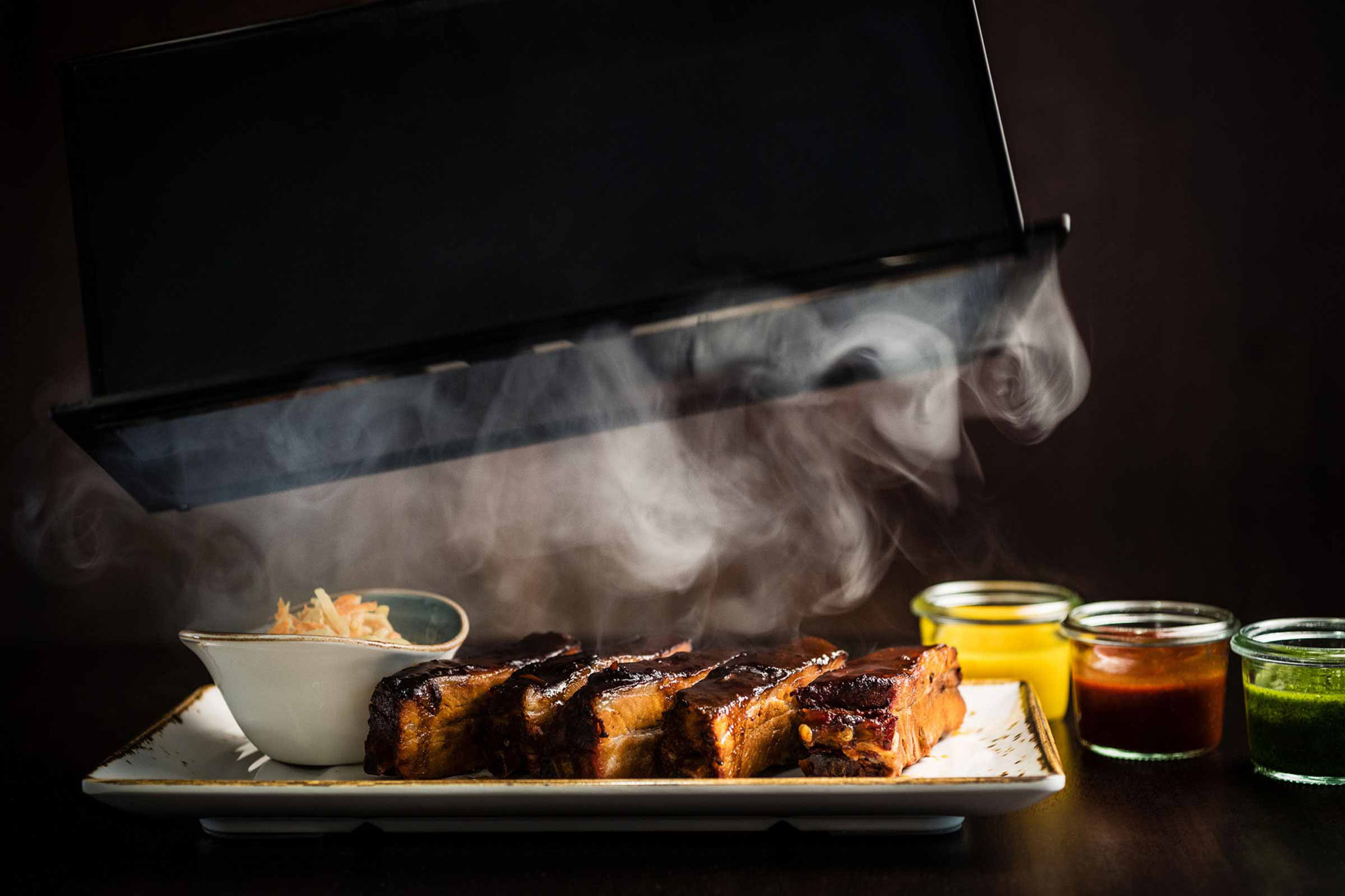 Restaurant Frankfurt: Spare Ribs im The Legacy Bar & Grill