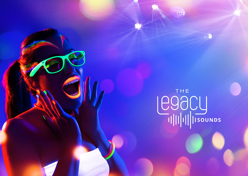 Afterwork Restaurant Frankfurt: The Legacy Sounds neon