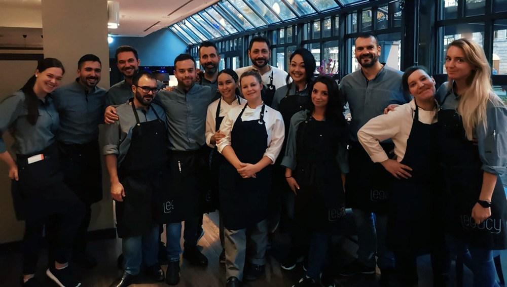 The Legacy Frankfurt Restaurant Team - Küche und Service Crew